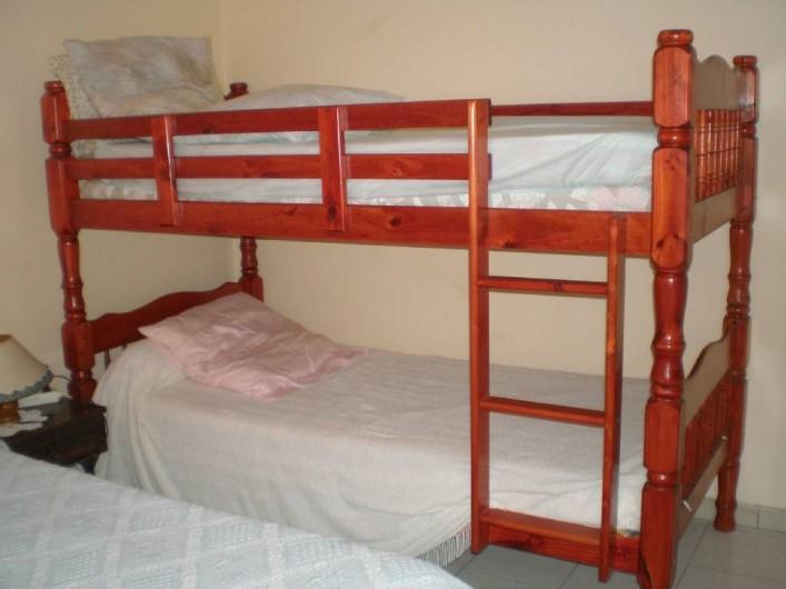 Location de vacances - Appartement à Les Anses-d'Arlet - Chambre n° 2 Lit superposé