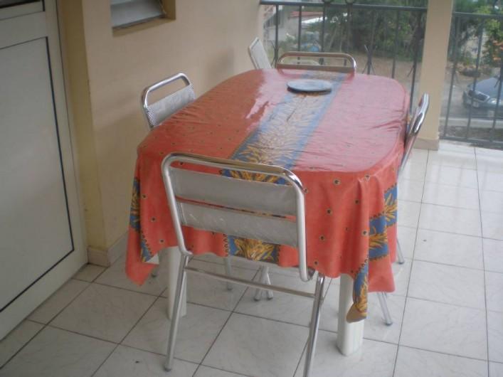 Location de vacances - Appartement à Les Anses-d'Arlet - Balcon