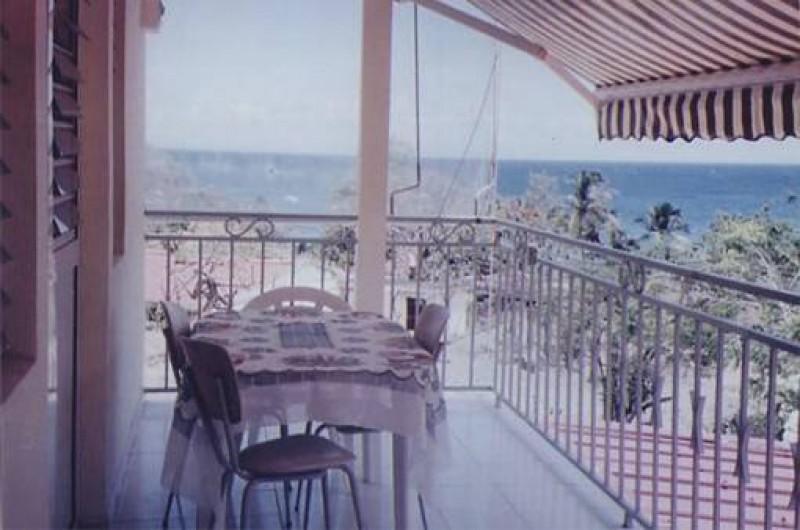 Location de vacances - Appartement à Les Anses-d'Arlet - Vue du balcon