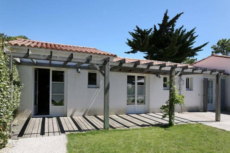 Location de vacances - Hôtel - Auberge à Le Bois-Plage-en-Ré - Chambre double standard