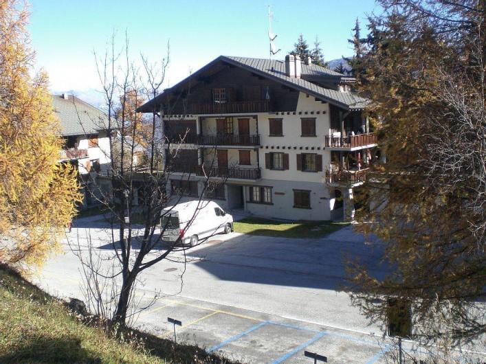 Location de vacances - Appartement à Thyon-Les Collons