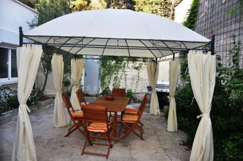 Location de vacances - Maison - Villa à Llançà - Cour-jardin