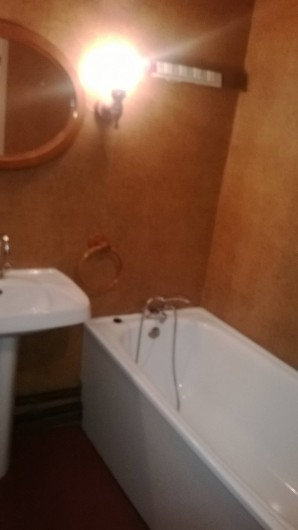 Location de vacances - Studio à La Salle-les-Alpes - salle de bain avec baignoire