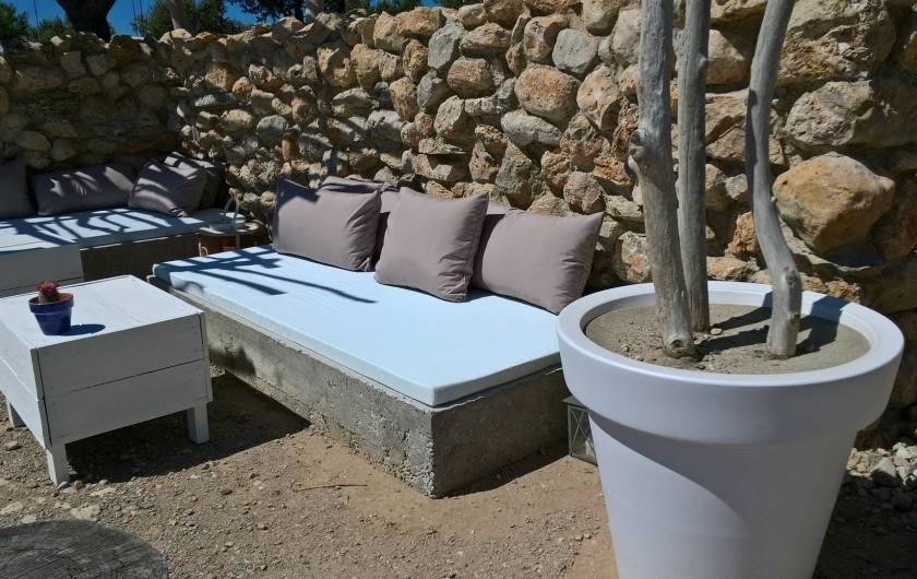 Location de vacances - Gîte à Fitou - bains de soleil / ombre