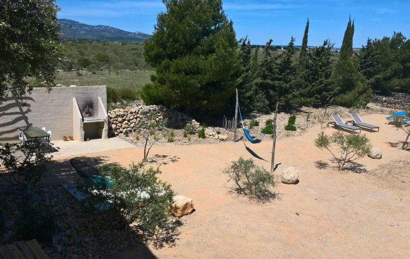 Location de vacances - Gîte à Fitou - jardin privée gîte