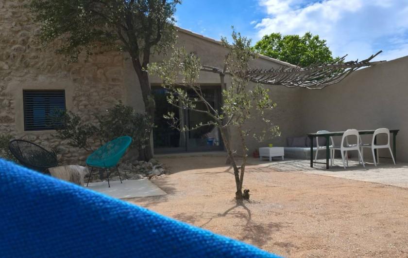 Location de vacances - Gîte à Fitou - terrasse