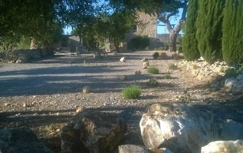 Location de vacances - Gîte à Fitou - Mas des 4 vents
