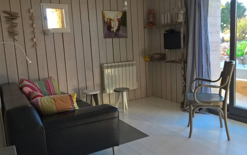 Location de vacances - Gîte à Fitou - salon