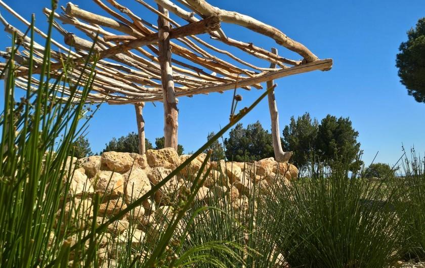 Location de vacances - Gîte à Fitou - pergola