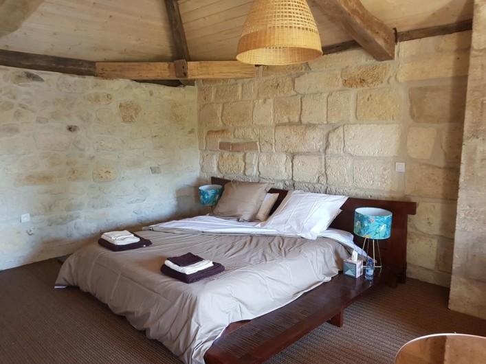 Location de vacances - Chambre d'hôtes à Laruscade - 2ème vue Canopée