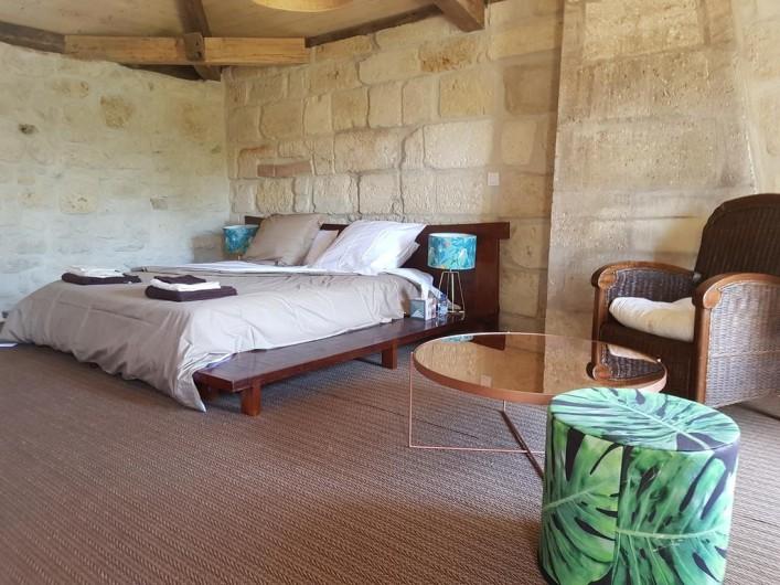 Location de vacances - Chambre d'hôtes à Laruscade - 4ème vue Canopée