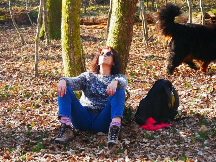 Location de vacances - Chambre d'hôtes à Laruscade - Méditation dans la forêt