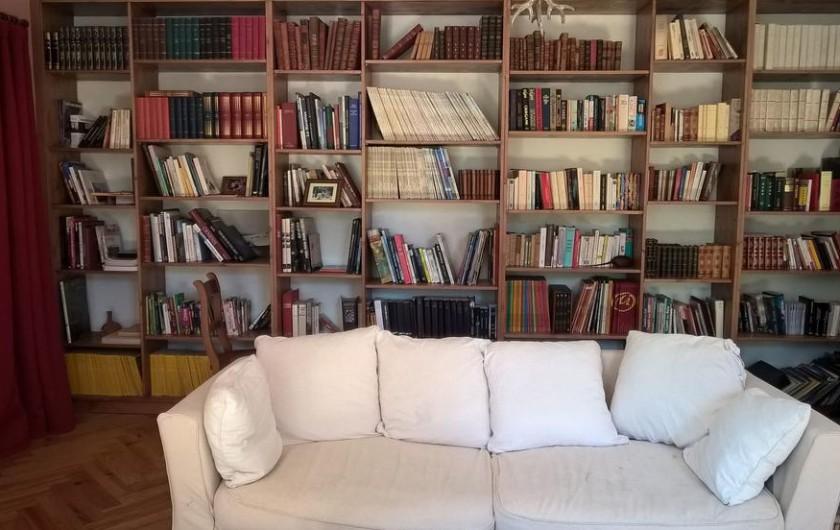 Location de vacances - Chambre d'hôtes à Laruscade - La bibliothèque