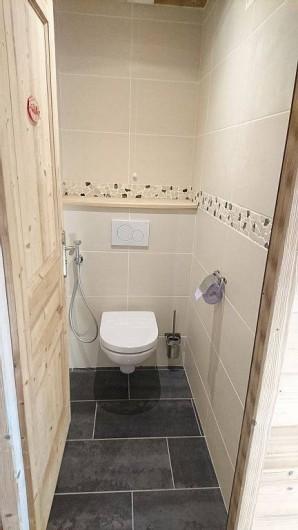 Location de vacances - Appartement à Les Rousses - WC séparé