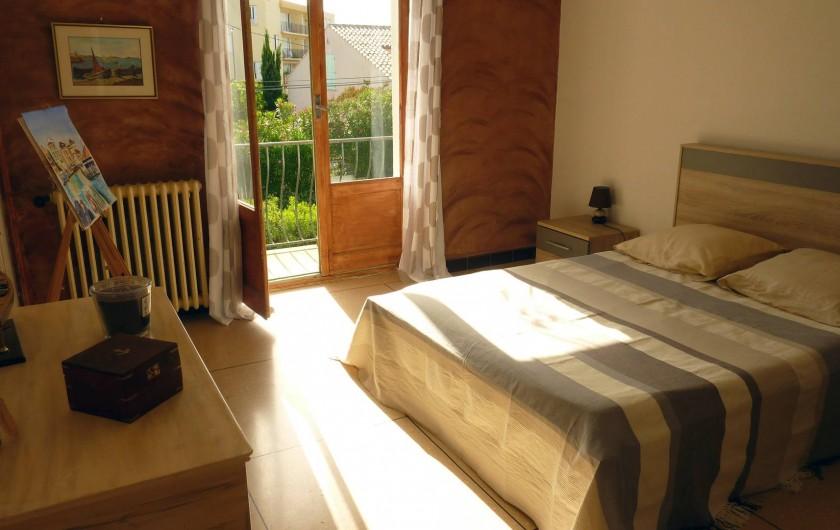 Location de vacances - Appartement à Saint-Tropez - Chambre 1