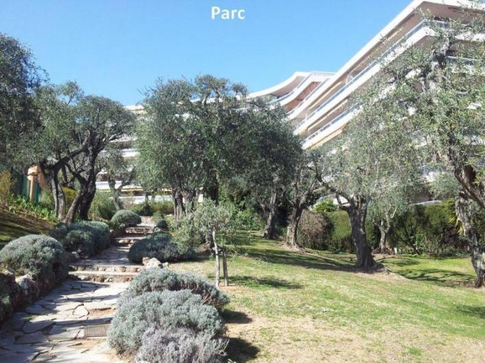 Location de vacances - Appartement à Nice - Le parc de la résidence