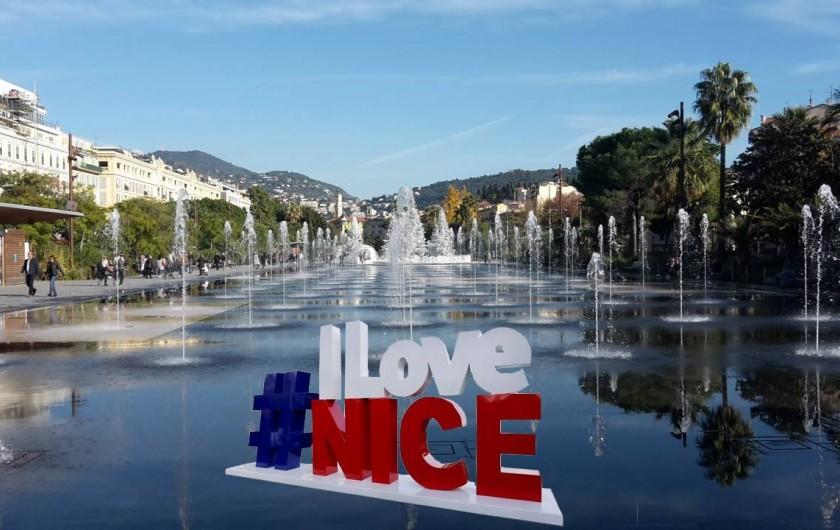 """Location de vacances - Appartement à Nice - La """"coulée verte"""" à Nice"""