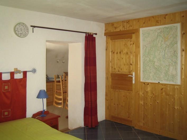 Location de vacances - Gîte à Valdrôme - La chambre
