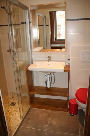 Location de vacances - Gîte à Saint-Benoît-sur-Loire - la salle d'eau su RDC