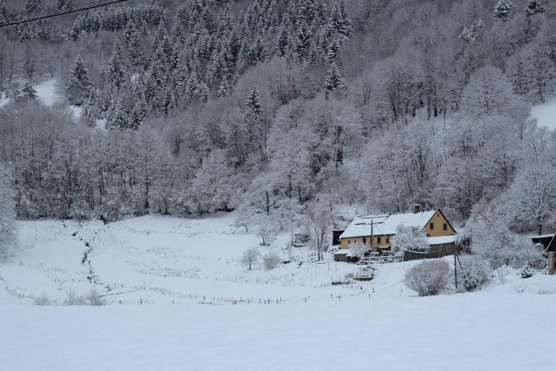 Location de vacances - Gîte à Orbey - En hiver !!!