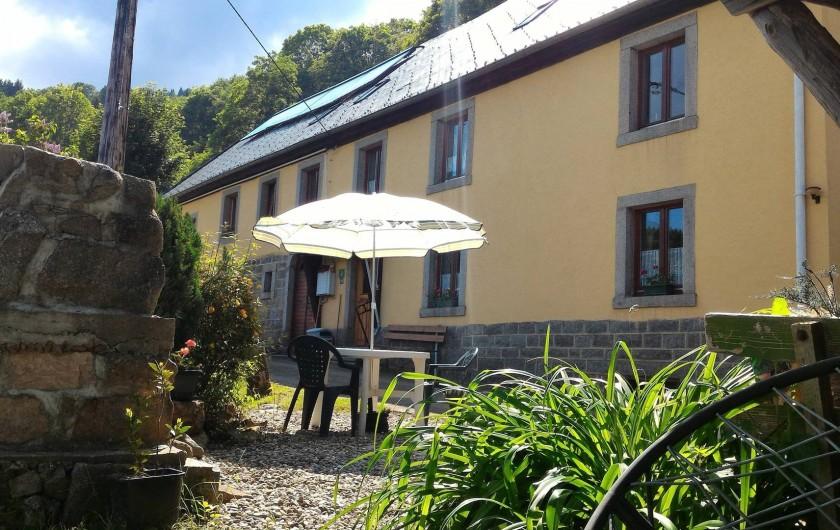 Location de vacances - Gîte à Orbey - Bienvenue dans votre location!!!