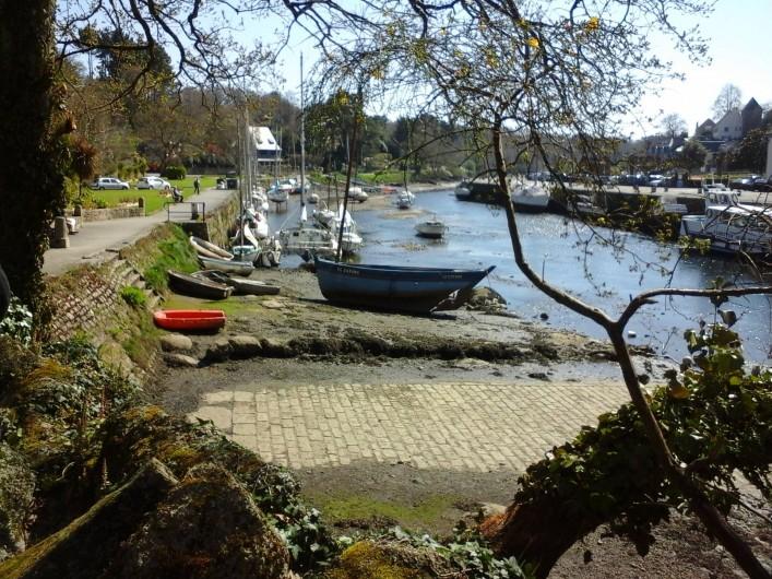 Location de vacances - Villa à Le Pouldu - vue personnelle du joli petit port de Pont-Aven