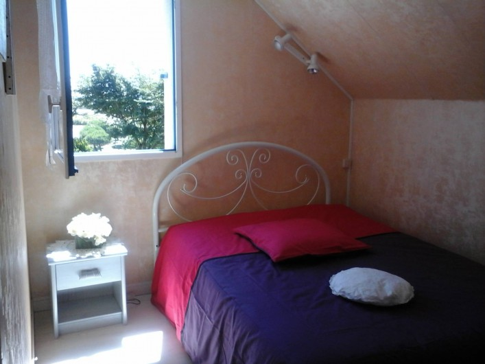Location de vacances - Villa à Le Pouldu - Une chambre (1 lit 2 p)   Une autre (2  lits  1 pl) Au POULDU