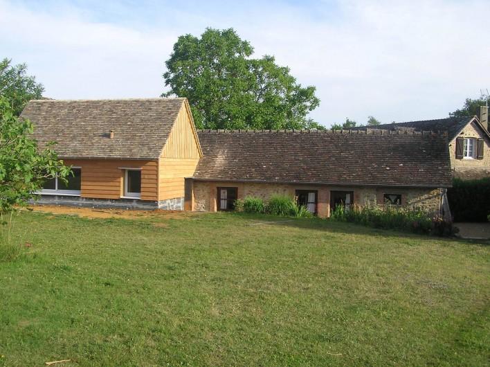 Location de vacances - Chambre d'hôtes à Lombron - dépendances aménagées en chambres