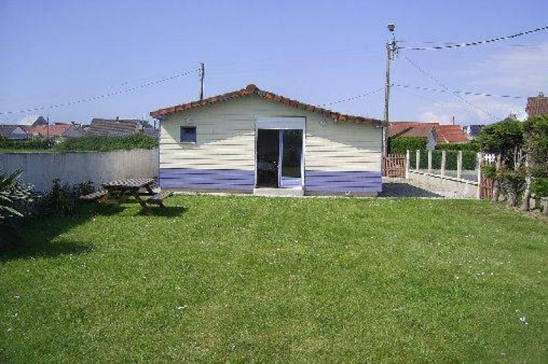 Location de vacances - Chalet à Cayeux-sur-Mer