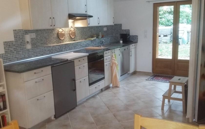 Location de vacances - Gîte à Louhans - kitchen