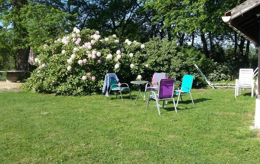 Location de vacances - Gîte à Louhans - Garden