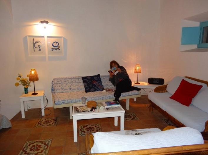 Location de vacances - Chalet à Lingua - Séjour
