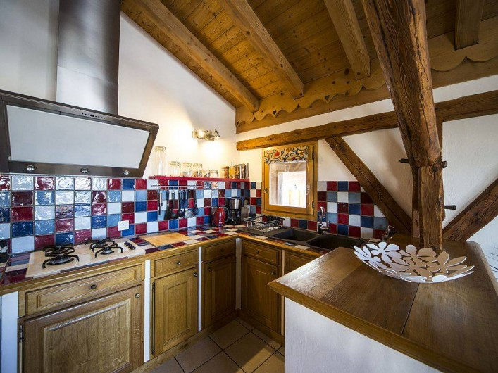 Location de vacances - Appartement à Les Carroz d'Arâches