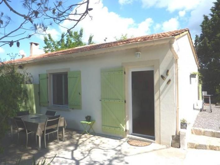Location de vacances - Gîte à Boisset-et-Gaujac - Terrasse 2