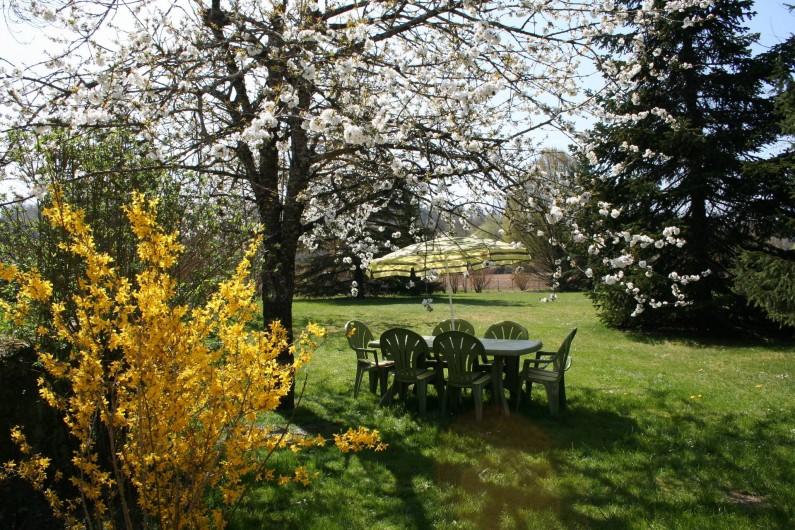 Location de vacances - Gîte à Saint-Vincent-sur-l'Isle - Les pieds dans l'herbe...