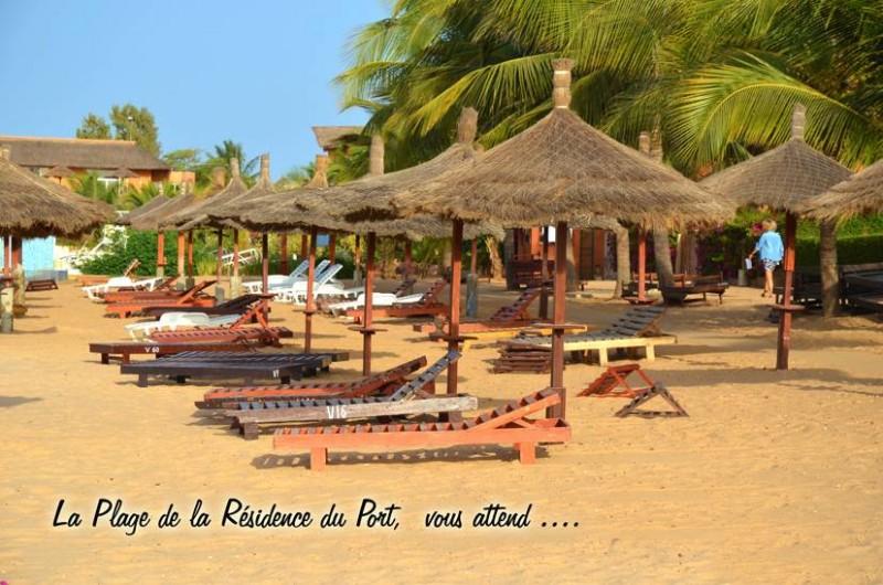 Location de vacances - Villa à Saly - à 30m de la villa une plage privée et gardée pour votre tranquilité