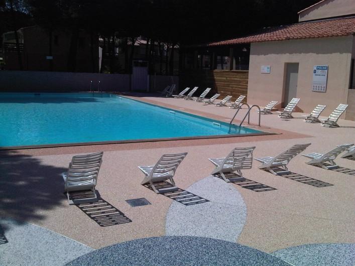 Location de vacances - Studio à Le Cap d'Agde - La piscine
