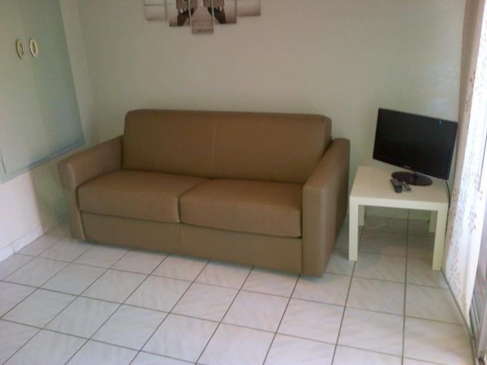 Location de vacances - Studio à Le Cap d'Agde - Le salon