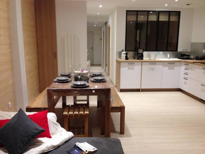 Location de vacances - Appartement à Super Lioran - Salle à manger