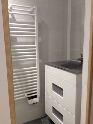 Location de vacances - Appartement à Super Lioran - Salle de douche