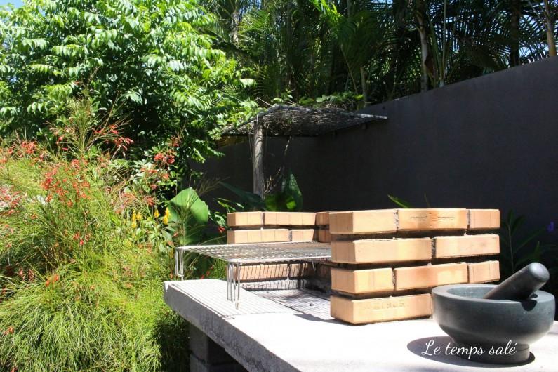 Location de vacances - Maison - Villa à Etang-Salé les Hauts - coin BBQ