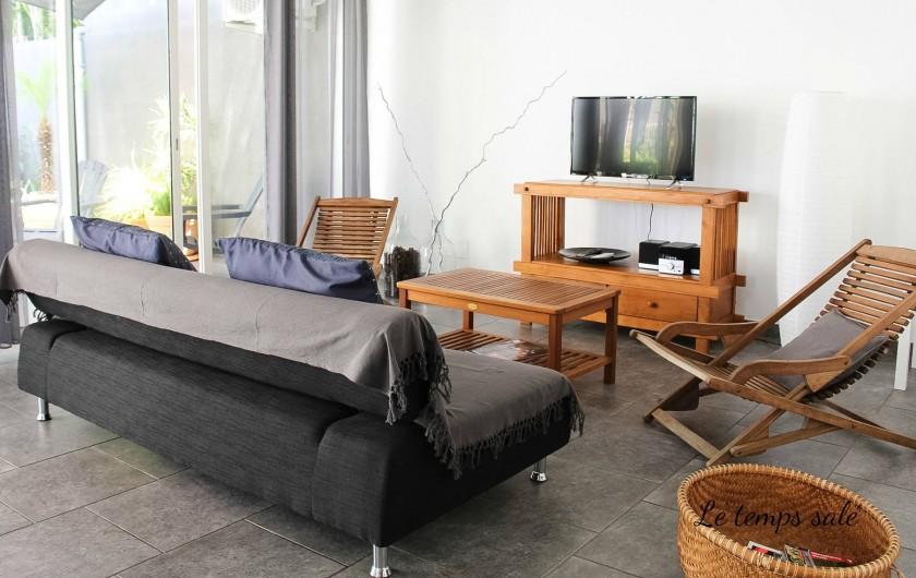 Location de vacances - Maison - Villa à Etang-Salé les Hauts - Salon