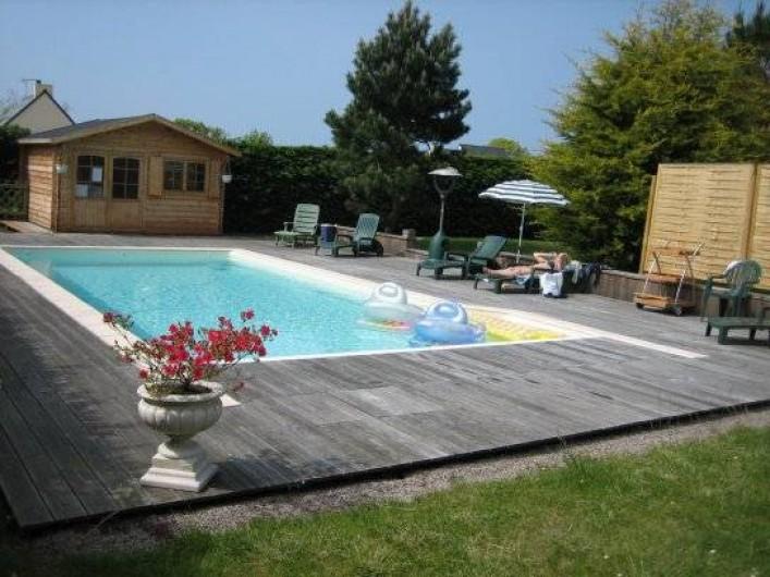 Location de vacances - Villa à Pléneuf-Val-André - Piscine chauffée