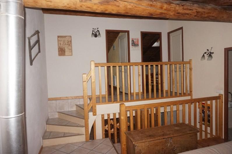Location de vacances - Appartement à Aussois - accès aux chambres