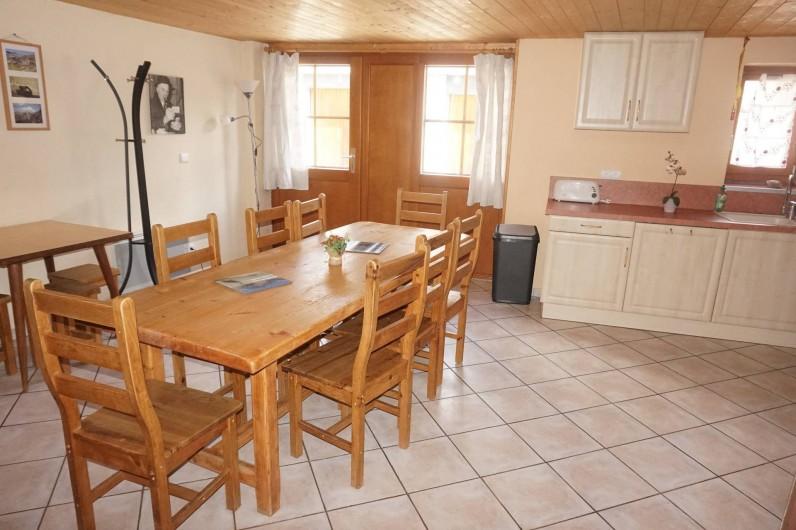 Location de vacances - Appartement à Aussois - cuisine