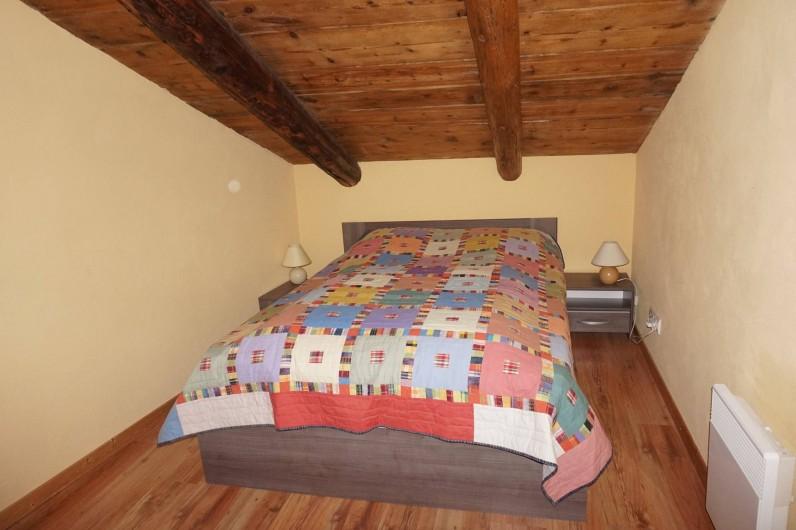 Location de vacances - Appartement à Aussois - chambre avec 1 lit 2 places