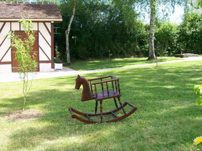 Location de vacances - Gîte à Nonant-le-Pin - parc paysager dans gîte au Pays du Cheval