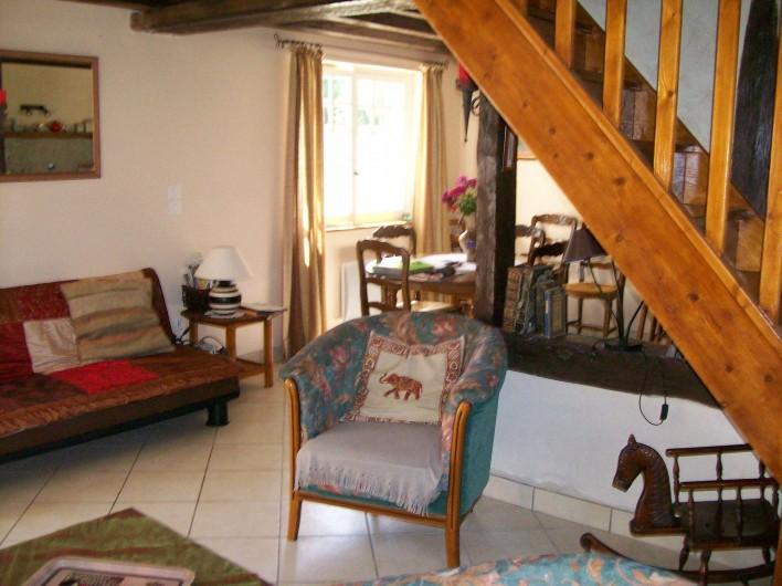 Location de vacances - Gîte à Nonant-le-Pin - salon rez de chaussée