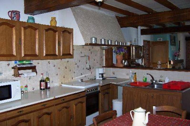 Location de vacances - Villa à Belcaire - cuisine 15 m²