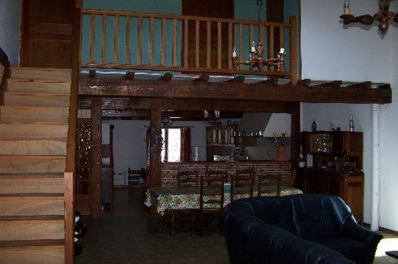 Location de vacances - Villa à Belcaire - Mezzanine